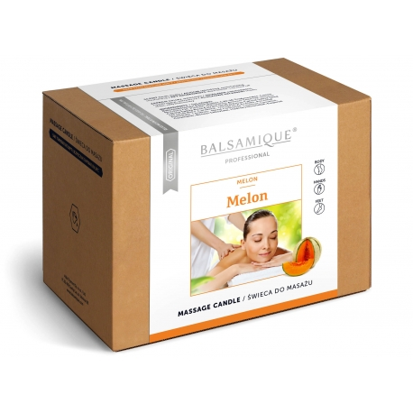 Świeca do masażu BALSAMIQUE MELON 170g