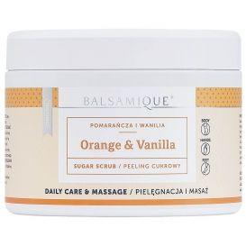 Peeling cukrowy BALSAMIQUE® - pomarańcza z wanilią 450g