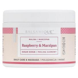 Peeling cukrowy BALSAMIQUE® - malina z marcepanem 450g