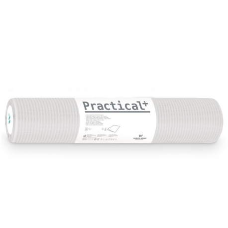 Podkład podfoliowany Practical + 70cmx50mb biały (perforacja co 50cm)