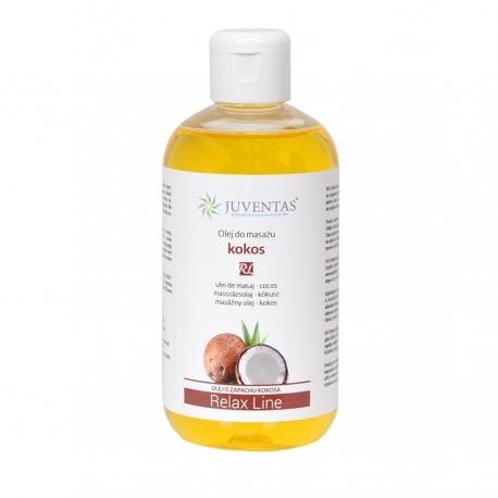 Olejek do masażu RELAX LINE - KOKOS - 250ml