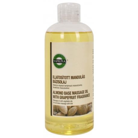 Olej do masażu migdałowy o zapachu grejpfruta.