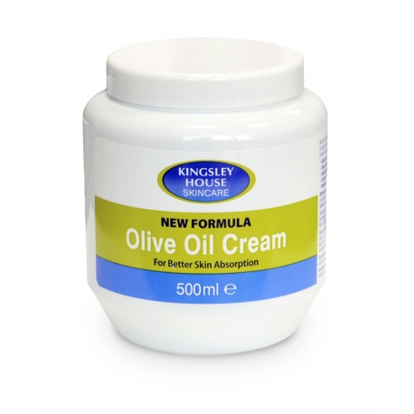 Krem na bazie oliwy z oliwek - 500ml