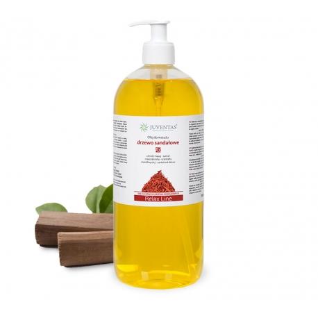 Olejek do masażu RELAX LINE - DRZEWO SANDAŁOWE - 1000ml