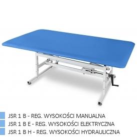 Stół rehabilitacyjny JSR 1 B (Bobath) 80 cm, reg. manualna