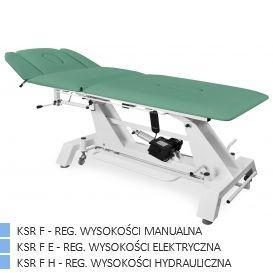 Stół rehabilitacyjny KSR F PLUS, reg. manualna