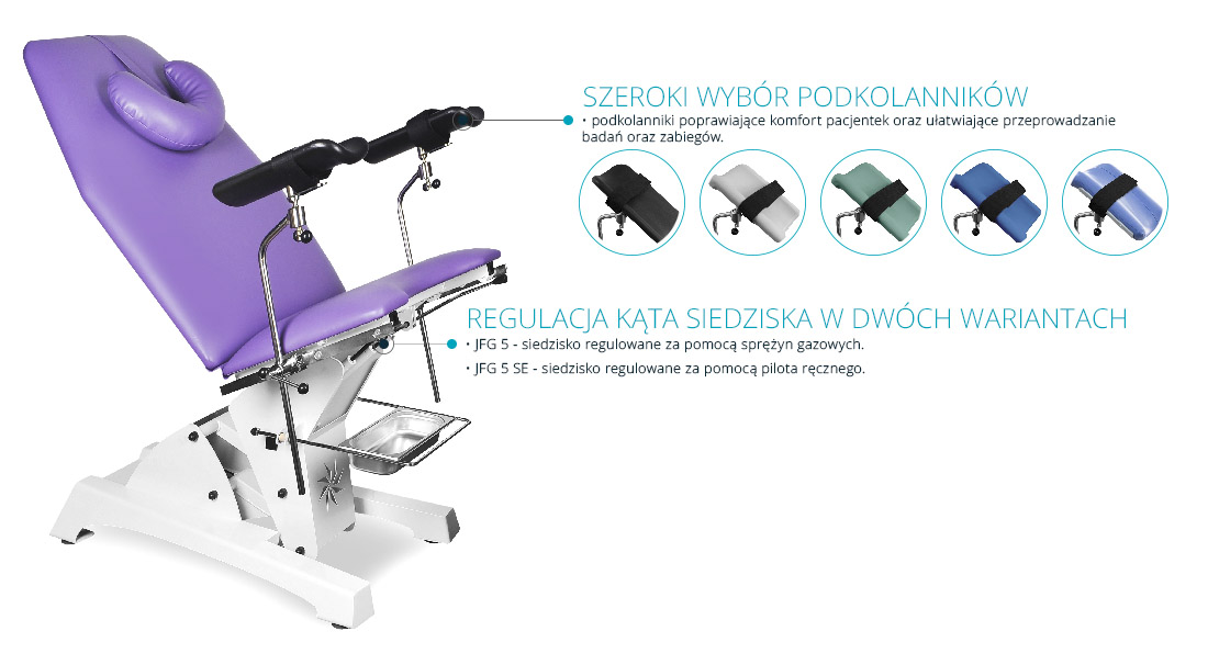 fotel ginekologiczny JFG 5 Juventas