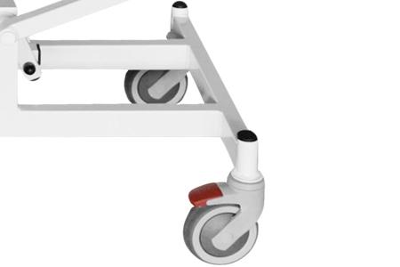 Koła z hamulcem - średnica kół 12,5 cm